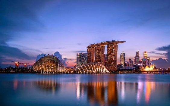 Singapur...