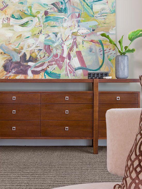 Ritz Carlton Penthouse – Terrat Elms Interior Design - Contemporary Bedroom Master Chest