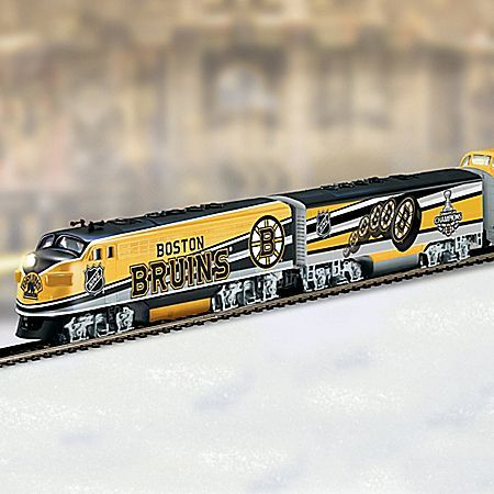 NHL Boston Bruins 2011 Stanley Cup Championship Train