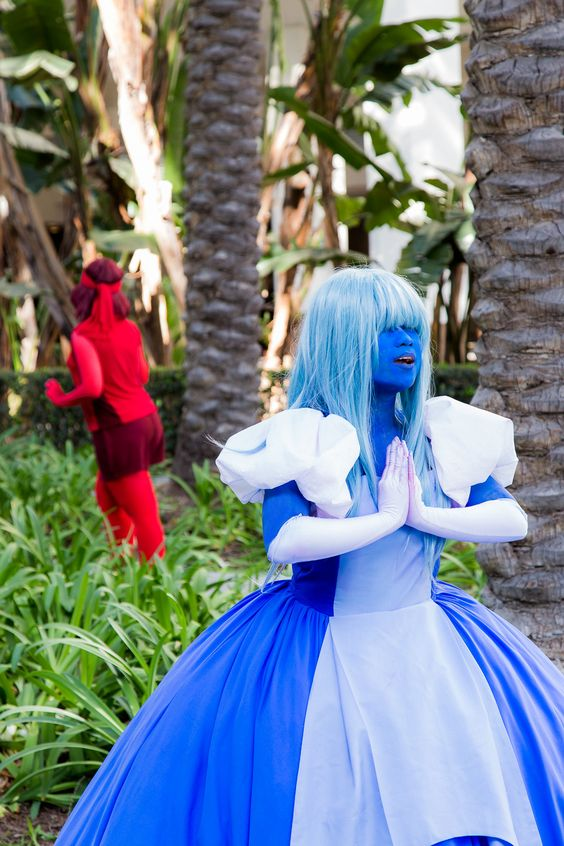 Steven universe ruby and sapphire cosplay