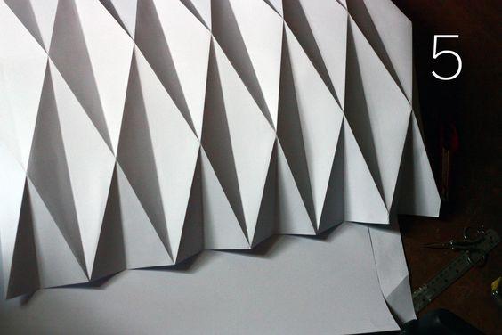 Thumbsucking: How to make an origami paper lantern