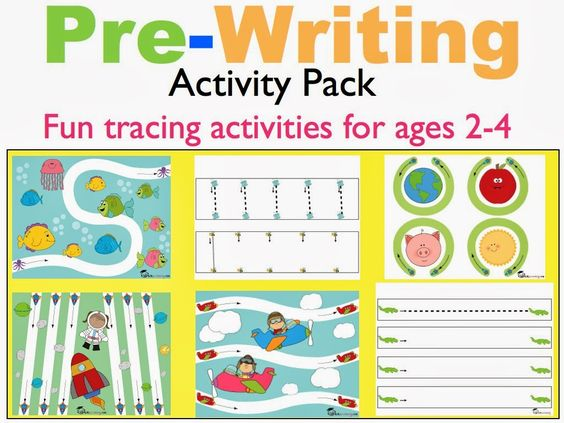 Pre-Writing | Search, Ps and Toddlers