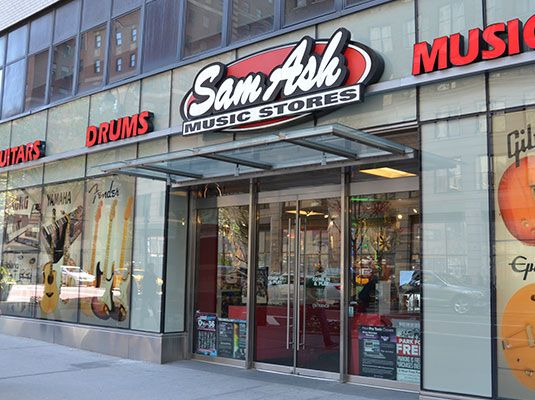 Visit Your Local Sam Ash Music Storesat 333 W 34th Street In Nyc Ny For A Wide Variety Of Musical Instruments Musical Instrument Rep Nyc Sam Ash Music Store