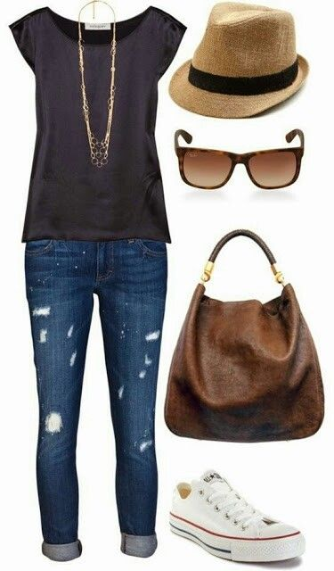 Great early spring outfit!