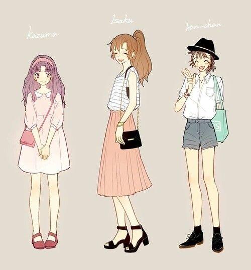 Girl Fashion Anime Girl Fashion Pinterest Girls Fashion And Girl Fashion