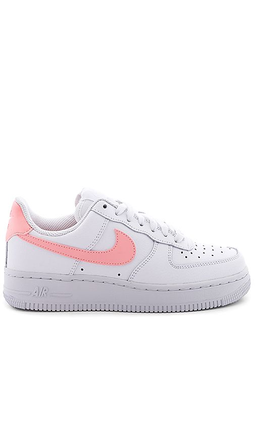Air Force 1 07 Sneaker In White Oracle Pink Dream Shoes Fresh Shoes Aesthetic Shoes