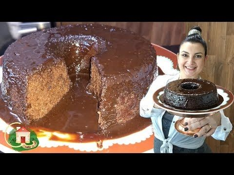 Bolo De Chocolate Sem Farinha Sem Leite E Sem Glutem Sem Acucar
