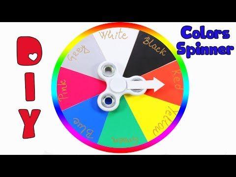 Learning Colors For Kids Fidget Spinner Hunt Colors Wheel