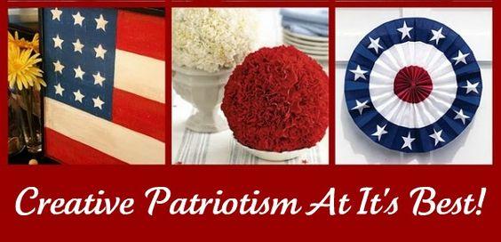 TONS of Patriotic Crafts!