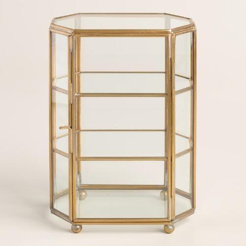One of my favorite discoveries at WorldMarket.com: Glass Curio Box:
