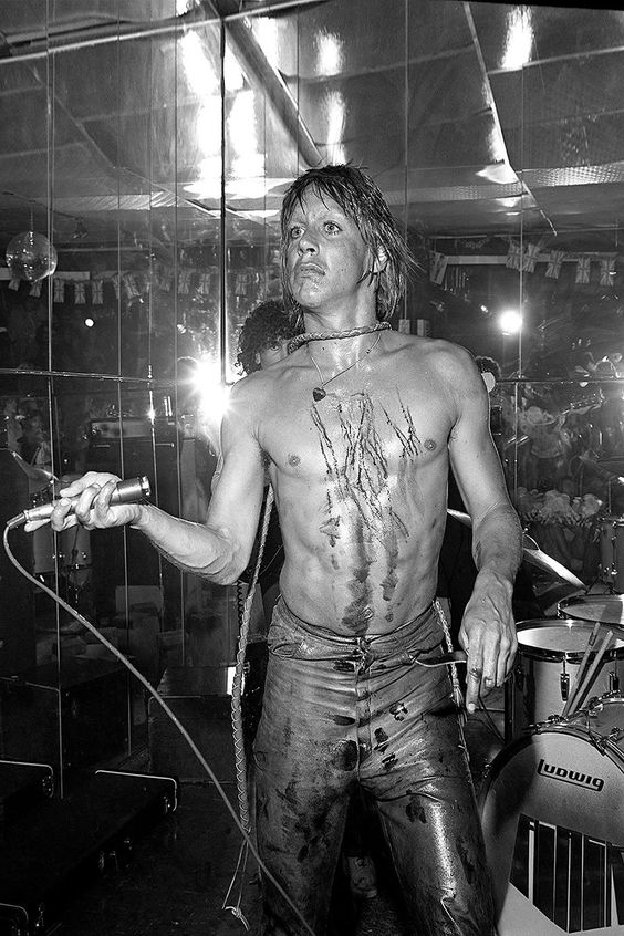 Iggy Pop and The Stooges 1974: