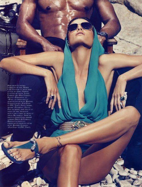 Isabeli Fontana, Vogue Paris.
