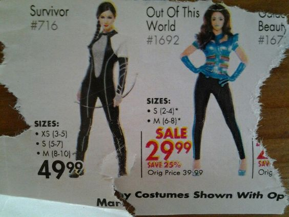 Costume ideas - Hunger Games, outer space
