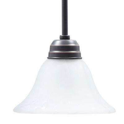 Design House Millbridge 1-Light Oil Rubbed Bronze Mini Pendant-514513 - The Home Depot