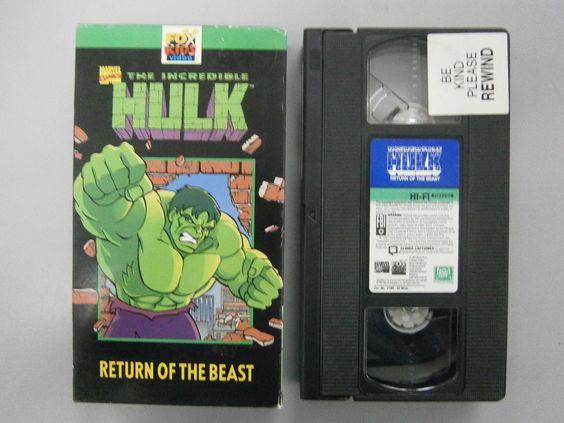 #Popular - The Incredible Hulk: Return of the Beast (VHS) Marvel Comics  http://dlvr.it/MlYYnr - http://Ebaypic.twitter.com/1v5vBIGzIi