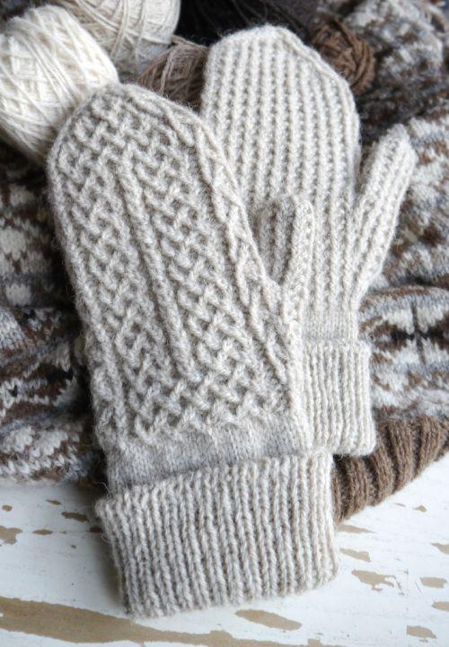 Gloves Knitting Pattern Pinterest : Mittens, Knitting patterns and Knitting on Pinterest