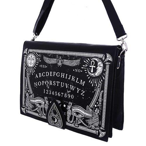Ouija Spirit Board schoudertas zwart - Gothic Occult