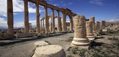 Weltkulturerbe: IS rückt in antiker Oasenstadt Palmyra ein - SPIEGEL ONLINE - Nachrichten - Politik