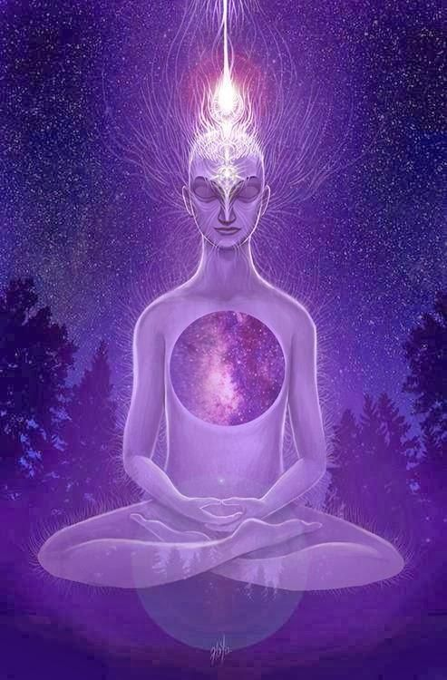 Violet flame purification: