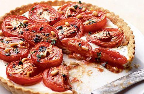 roasted tomato tart | A Visual Feast | Pinterest | Goats Cheese Tart ...