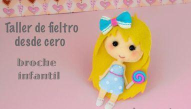 Taller de fieltro desde cero: muñeca infantil