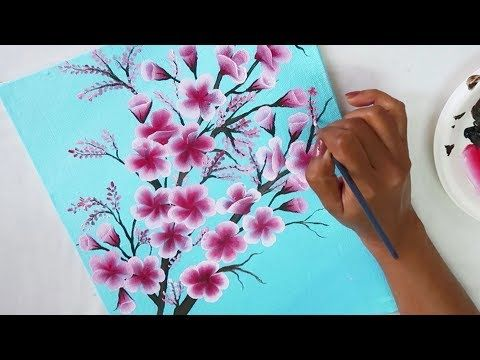 Easy Canvas Painting Ideas Step By Step Painting Tutorial For