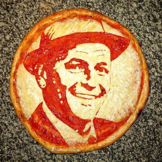 Pizza Art, Frank Sinatra