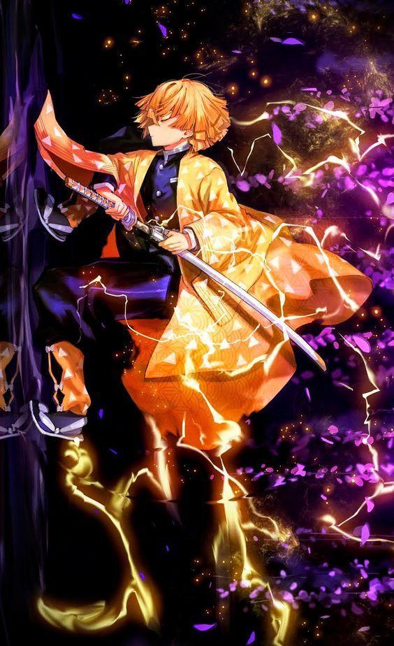 Get galaxy s21 ultra 5g with unlimited plan! Kimetsu No Yaiba Wallpaper Phone Zenitsu - Anime Wallpaper HD