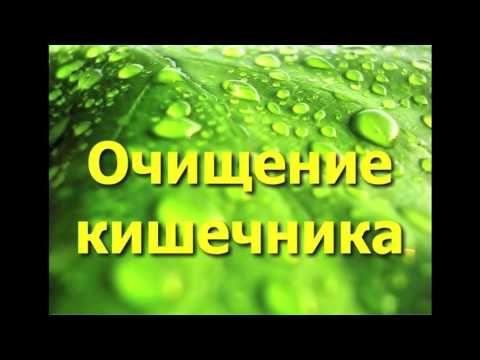 очищение кишечника от паразитов видео