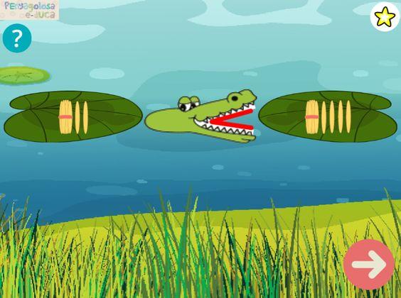 El cocodrilo come-palillos (1-20)
