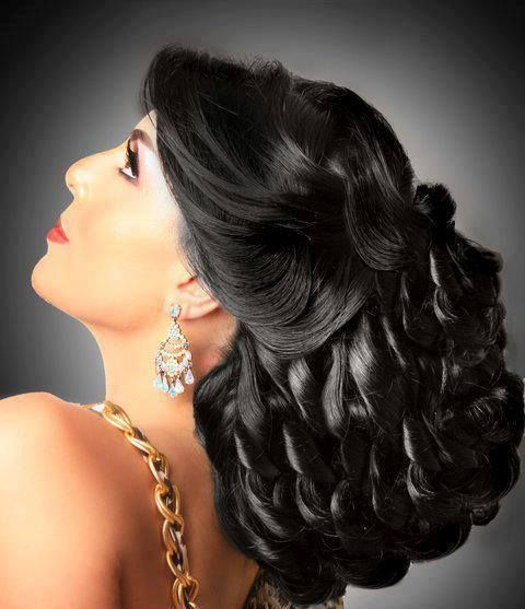 Arabic Hairstyles For Weddings: Arabic Hairstyles, Bridal Hairdo And Hairstyle Wedding On