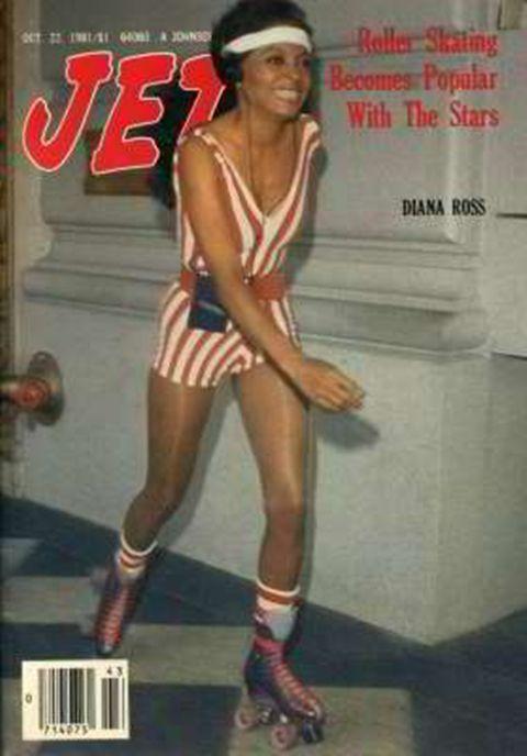 Diana Ross — Jet magazine, October 1981