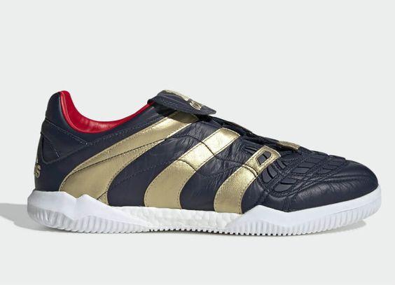 Adidas Predator Accelerator Zinedine Zidane Trainers Collegiate Navy Gold Met Predator Red Adidasfootball Adidas Predator Adidas Football Football Boots