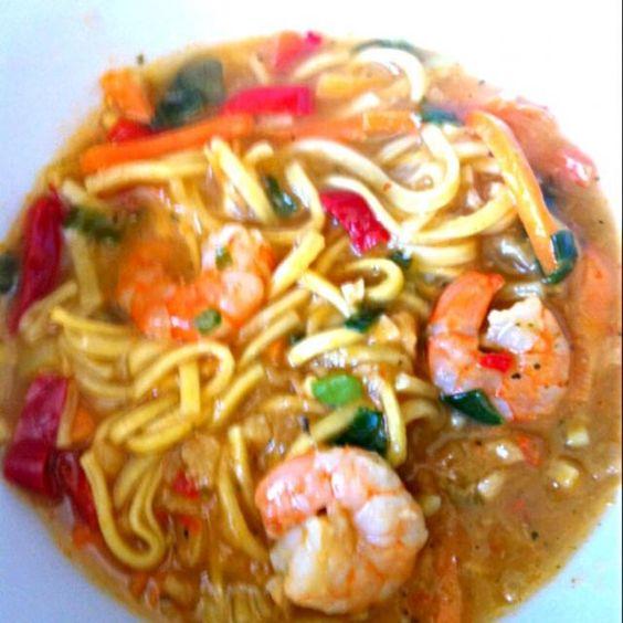 レシピとお料理がひらめくSnapDish - 7件のもぐもぐ - Thai King Prawn Noodles by Nicole Avis