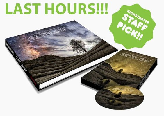 (www.SkyGlowProject.com).   A book of astrophotography & timelapse series exploring America's most beautiful starscapes, and the growing threat of light pollution. Created by Gavin Heffernan (www.SunchaserPictures.com) and Harun Mehmedinović (www.Bloodhoney.com)