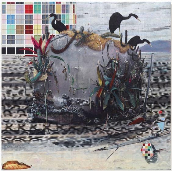 Medusa, 2011 Acrílica sobre tela 200 x 200 cm