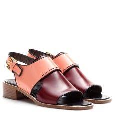 Marni - Leather sandals  - mytheresa.com GmbH
