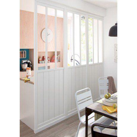 Cloison amovible atelier blanc x cm kap ferret pinterest atelier - Cloison amovible appartement ...