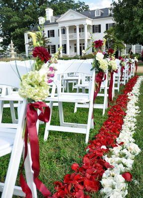 Keswick Vineyards for outdoor Charlottesville weddings looks just lovely.