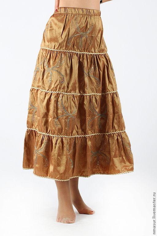 Купить юбку длинную на распродаже