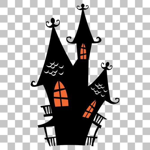 Haunted House Png Image With Transparent Background Png Images Stock Images Free Haunted House