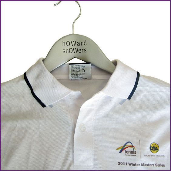 Pad Print to Coat Hanger, Sublimation print onto shirt.  For more examples of our work, visit www.mkpromotions.com.au