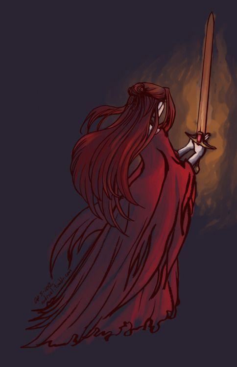"andrael:  ""I am a knight of sorts myself."""