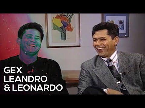 Gente De Expressao Leandro Leonardo Youtube Leandro E