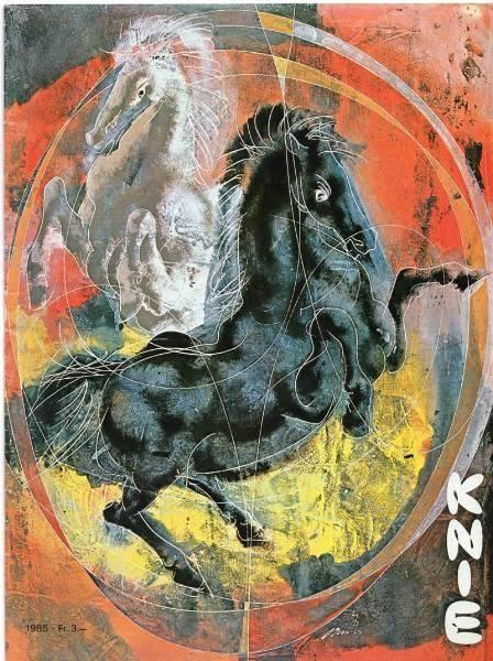 ZIRKUS / CIRCUS / CIRCO KNIE PROGRAMM | 1985 | Hans Erni in Wetzikon ZH kaufen bei ricardo.ch