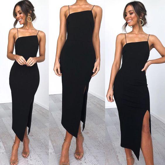 "Petal & Pup on Instagram: ""ZAHRA DRESS restocked in black 🖤 Tap to shop! www.petalandpup.com.au #petalandpup"""