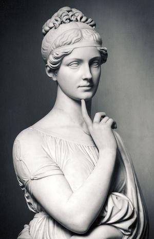 Bertel Thorvaldsen (1770-1844) - Portrætstatue af Maria Fjodorovna Barjatinskaja (1818-25)