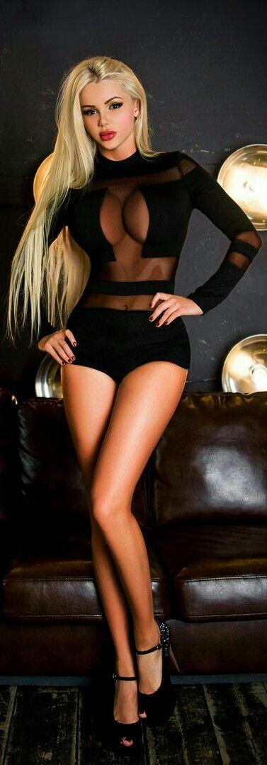 .Black Lingerie...