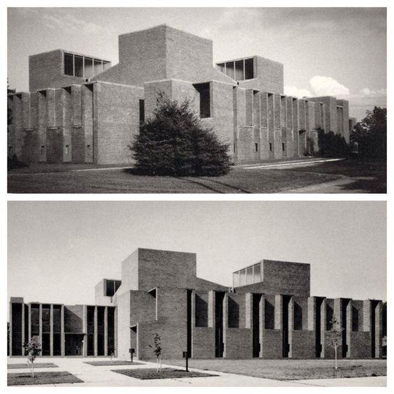 Louis Kahn First Unitarian Church Rochester Ny 1962