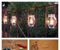 DIY Outdoor Candles